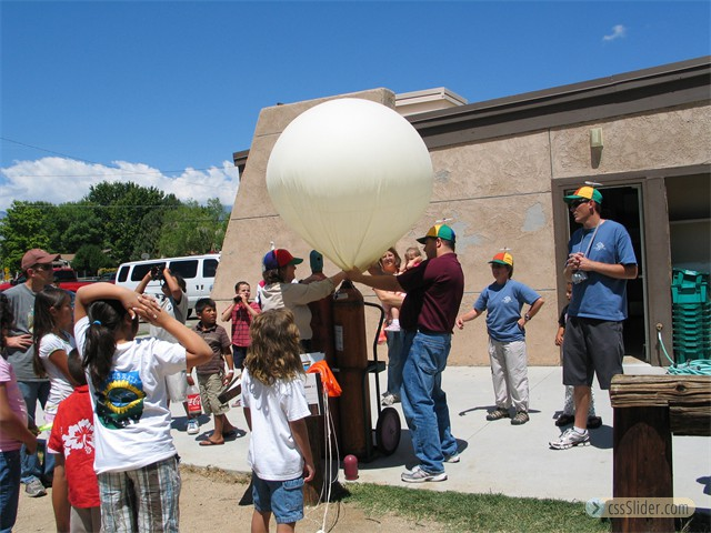 Balloon Launch with National Weather Service